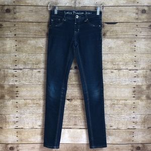 JUSTICE SKINNY JEANS  14S